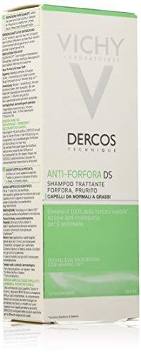 Vichy Shampoo Anticaspa Grasa, per stuk verpakt (1 x 200 ml)