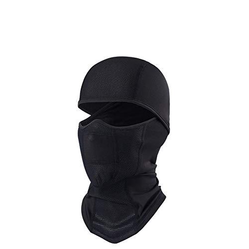Atneato Face Bandana Neck Warmer Mask - Neck Gaiters & Neck Cover & Face Scarf Windproof Half Balaclava Ski Mask (BI-D-01)