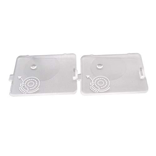 CKPSMS - 2 piezas #416428301 tapa de bobina placa deslizante compatible con Singer Talent 3321, 3323, 4411, 4423, 5511, 511