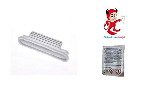 Ombrello Scheibenversiegelung Flügelampulle für 1 Anwendung mit Schwammteufel Schwamm + Vorreinigungtuch