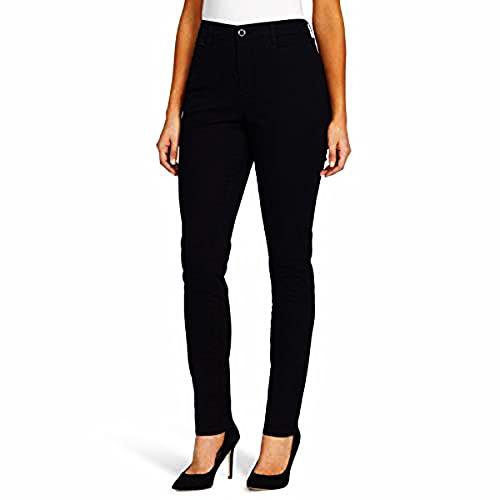 Gloria Vanderbilt Women's Plus Size Amanda Trouser Pant, Black, 20W