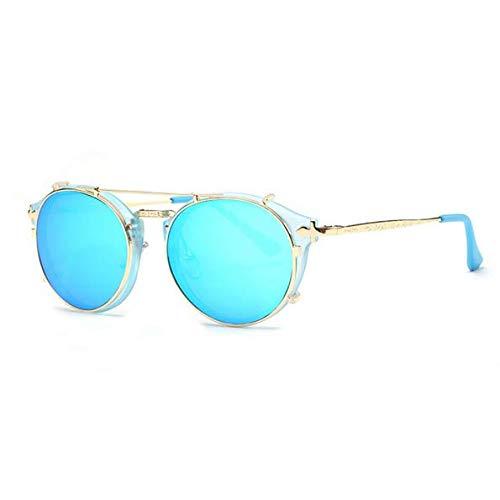 DXLPD Gafas De Sol Polarizadas Gafas Deportivas Súper Ligero Y Cómodo Anti UV Marco Lente Espejo con Gafas Mujer Ciclismo Running Coche Moto Montaña,5