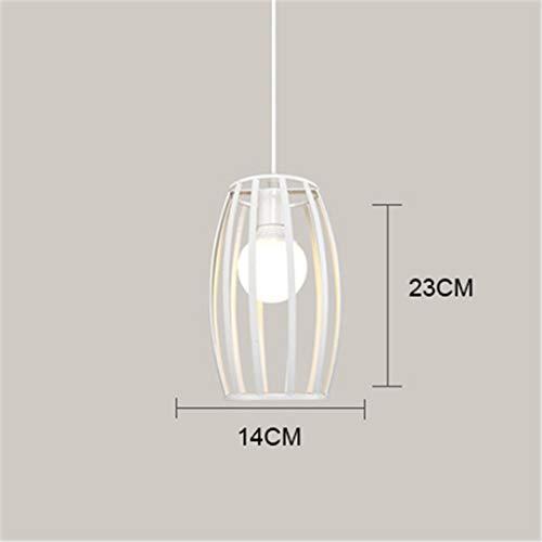 Led moderne vogelkäfig pendelleuchten industrielle eisen pendelleuchte loft schwarz hanglamp für küche esszimmer cafe bar wohnzimmer e27 Type 6 no bulb