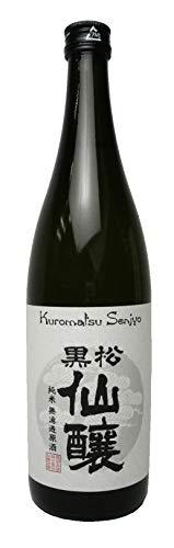 仙醸『黒松仙醸 純米無濾過原酒』