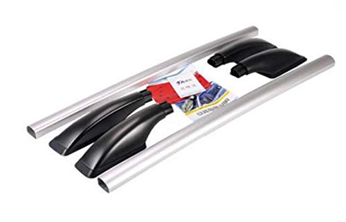 JPVGIA For Nissan Tiida Hatchback Coche de aleación de Aluminio Barra de Techo Accesorios de Equipaje de Barras de Techo Decorativo (Color : Multi)