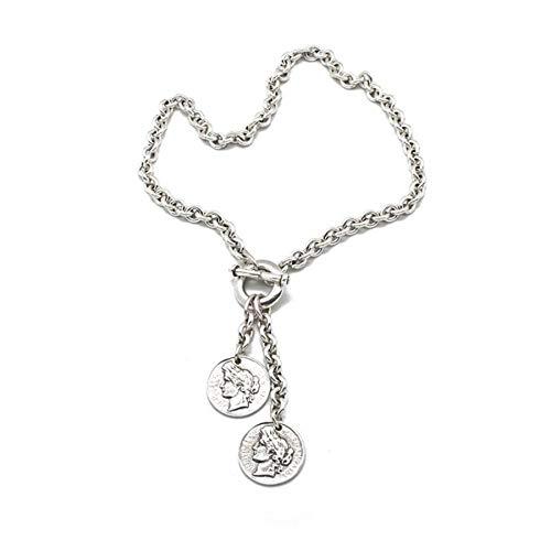 CICLÓN Collar Essentials de metal para mujer, aleación de metal, 008731