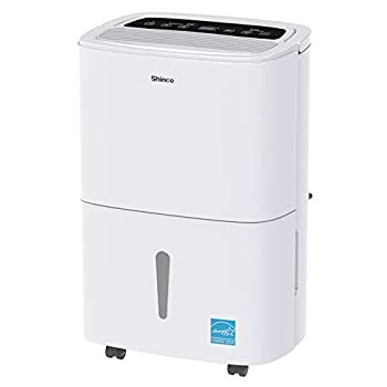 Shinco 5,000 Sq.Ft Energy Star Dehumidifier with Pump Ideal for Large Rooms and Basements - Quiet Remove Moisture & Control Humidity