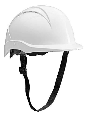 ACE Patera Bauhelm - Belüfteter Schutzhelm für die Baustelle - EN 397 - Weiß