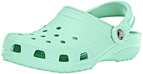 Crocs Classic, Zuecos Unisex Adulto, Verde Neo Mint, 46/47 EU