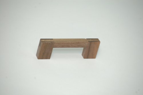 Griff Möbelgriff Schrankgriff Holz Walnuss Bohrlochabstand 96 mm