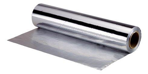 Bobine de papier aluminium en boîte distributrice 30cm x 200M.