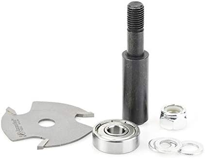Amana Tool - 53402-1 Slotting Cutter Assembly Dia NEW before Online limited product selling 3 x Wing 8 1-7