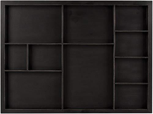 7gypsies Shadow Box Tray 12'X16'-Black, Holds Assorted Size Photos