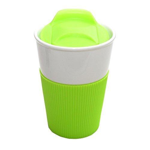 Tasse à café en porcelaine - 350 ml - Vert