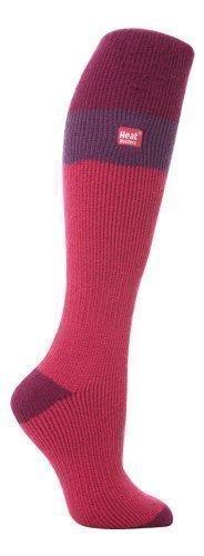 LONG SKI Heat Holders Thermal Socks womens rasberryfuchsia 4 8 uk 37 42