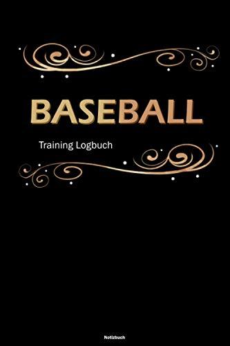 Baseball Training Logbuch Notizbuch: Baseball Workout Planer Trainingstagebuch DIN A5 liniert 120 Seiten Geschenk