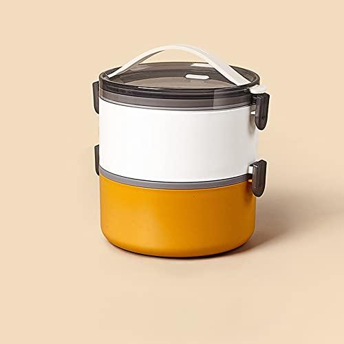 FEIGAO Fiambrera,PP De Calidad Alimentaria Loncheras De Trabajo,Caja con Compartimentos,Comida Bento Box,Fiambrera Trabajo