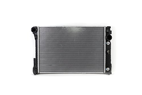 Radiator - Cooling Direct For/Fit 13498 10-15 Mercedes-Benz C-Class Sedan/Coupe/CLS-Class/E-Class Sedan/Convertible/Coupe/Hybrid/GLK-Class 3.5L V6 WITHOUT PZEV Plastic Tank Aluminum Core 1-Row
