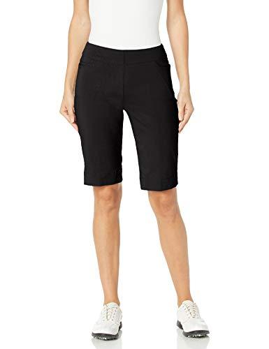 SLIM-SATION Golf Shorts Women's ,color Black ,size 12