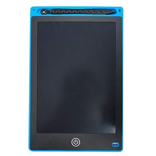 BXGZXYQ LCD-Schreibtafeln Handbemalte Kinder-Schreibtafeln Gesperrt 8,5-Zoll-Tablets LCD-Schreibtafel Digitaler Schreibblock for Laptops (Farbe : Blau)