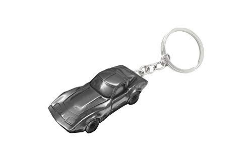 Classic USA Auto Zinn Effekt Corvette ca. 1979 Ref35 Auto Schlüsselanhänger Oldtimer Zinn-Effekt