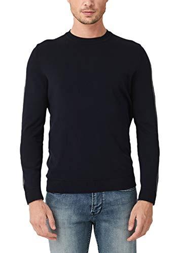 s.Oliver Herren 13.909.61.5234 Pullover, Blau (Fresh Ink 5952), Medium (Herstellergröße: M)