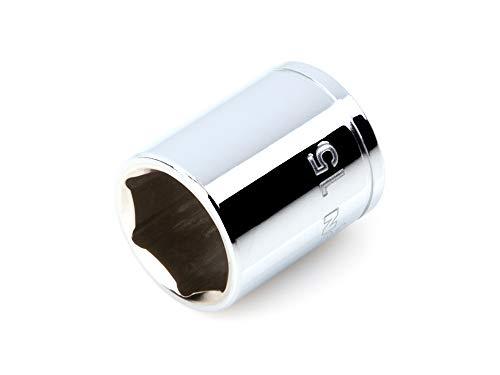 TEKTON 1/4 Inch Drive x 15 mm 6-Point Socket | SHD02115