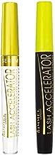 Rimmel Lash Accelerator Mascara, Extreme Black and Lash Serum, Eye Makeup Kit