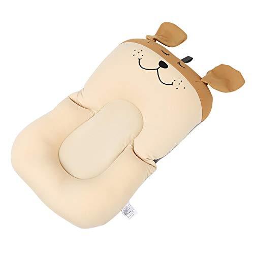 Tina de baño flotante del bebé, alta resiliencia amistosa para la piel segura de la tina(brown, Puppy without hook)