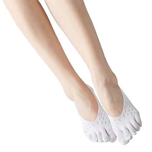 Guajave Calcetines De Mujer, Calcetines De CompresióN OrtopéDica, Calcetines Separados De Verano, Forro De Corte Ultrabajo con LengüEta De Gel Suave Y Transpirable