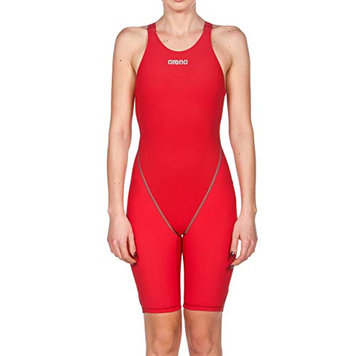 Arena;Costume da nuoto e da competizione da donna Powerskin St 2.0;schiena scoperta, Donna, rosso, 36 IT
