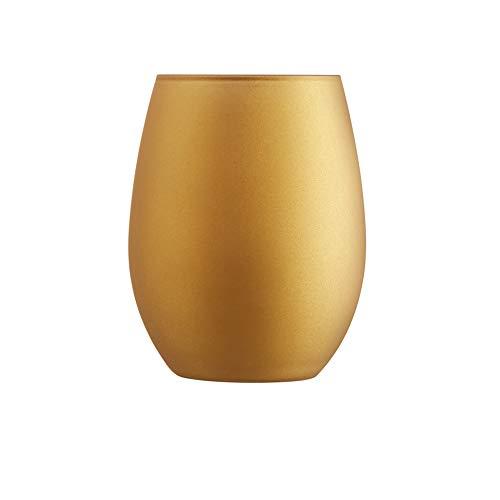 Chef & Sommelier ARC N6677 Primary Gold - Set di 6 bicchieri universali da 350 ml, in cristallo, colore: Oro