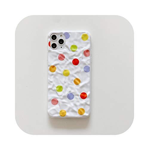 Schutzhülle für iPhone 12, 3D, niedlich, weiß, für iPhone 12 Mini 11 Pro XS Max XR X 7 8 Plus, Rückseitenabdeckung aus weichem Silikon für Mädchen B-for iPhone11Pro (5,8 Zoll)