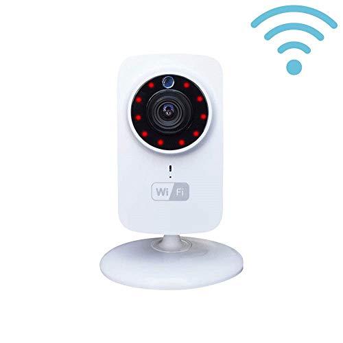 7hSevenOn Elec Cámara de Seguridad Inteligente WiFi con Altavoz y Visión Nocturna vía Smartphone/App
