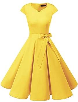 1950s Dresses for Women 50s Dresses for Women Audrey Hepburn Dress Rockabilly Dresses for Women,Vintage Dress for Women 1950s Red L