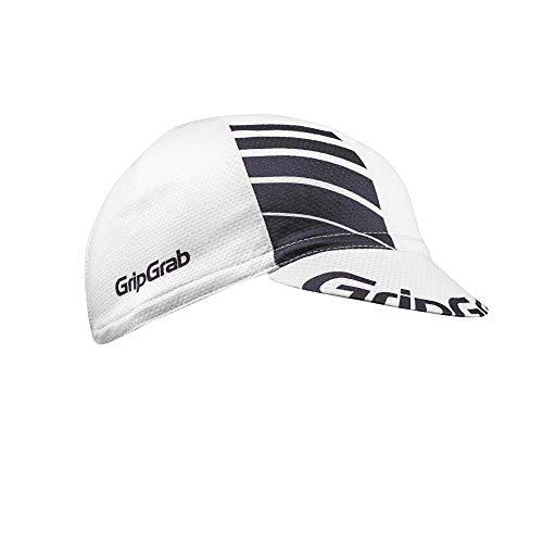 GripGrab Unisex Gripgrab Leichte Sommer Cycling Cap Radsport Mütze, Weiß, Onesize (54-63 cm)