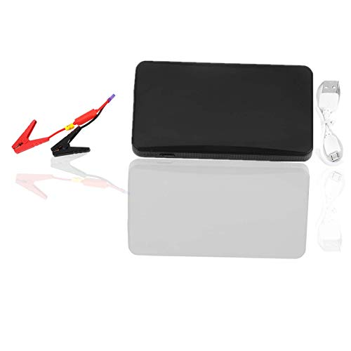 Starthilfe Power Bank Portable 12V Auto Motor Batterieladegerät für Benzinmotor 3.0L(Schwarz)