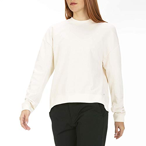 Hurley W Dri-Fit Wash Crew Sudaderas, Mujer, Pale Ivory, S