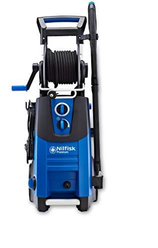 Nilfisk Hidrolimpiadora P 180 Bar con Motor de inducción, limpiadora de Agua a presión para hogar, Exteriores y Limpieza de Coches, Azul