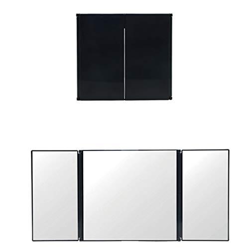 Hado Mehrzweck-Make-up-Spiegel, zusammenklappbar, Auto-Innenraum, Sonnenblende