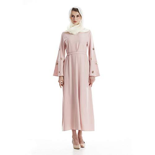 Madmoon Muslim Frauen Spitze Pailletten Maxi Kleid Kimono Open Abaya Robe Dubai Kleid Abendkleid...