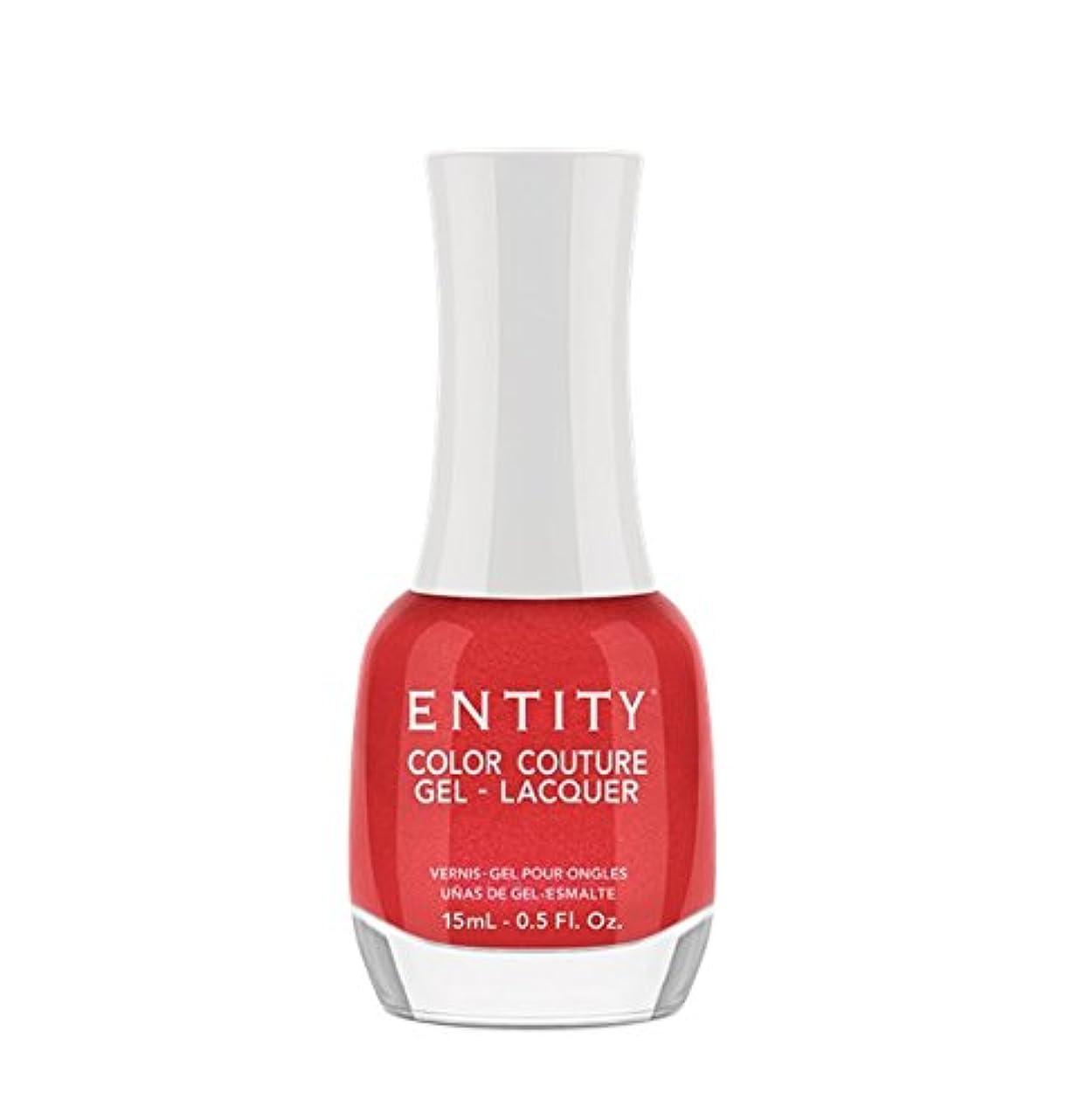 早熟受ける侵略Entity Color Couture Gel-Lacquer - Red Rum Rouge - 15 ml/0.5 oz