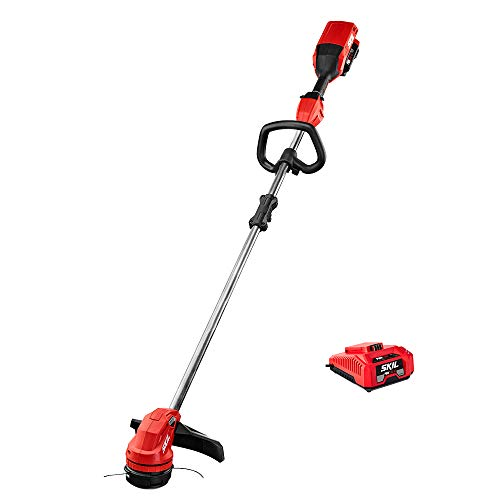 SKIL PWRCore 40™ Brushless 40V 14u0022 String Trimmer Kit with Twist Load™ and auto PWR Jump™ Charger