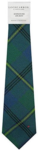I Luv Ltd Gents Neck Tie Johnstone Ancient Tartan Lightweight Scottish Clan Tie