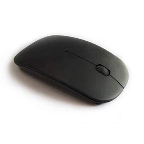 Lai-LYQ Universele Laptop PC Computer 2,4 GHz Batterij Aangedreven Draadloze USB Optische Muis Zwart