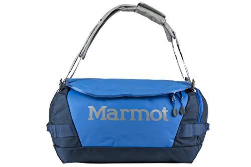 Marmot Long Hauler Duffel Bag Small, Robuste Reisetasche, kleine Sporttasche, Weekender, 35L Fassungsvermögen, Peak Blue/Vintage Navy