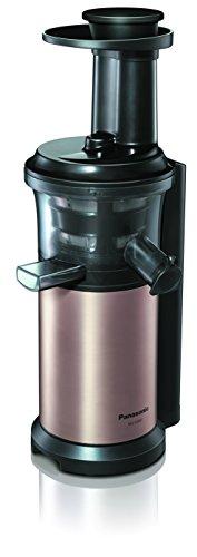Panasonic MJ-L500N Slow Juicer / Entsafter / 2 Einsätze für Säfte & tiefgefrorene Zutaten / Frozen Joghurt / Kupfer