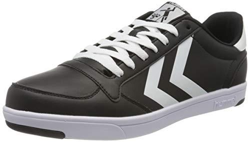 Hummel Herren Stadil Light Sneaker Niedrig, Schwarz (Black 2001), 43 EU