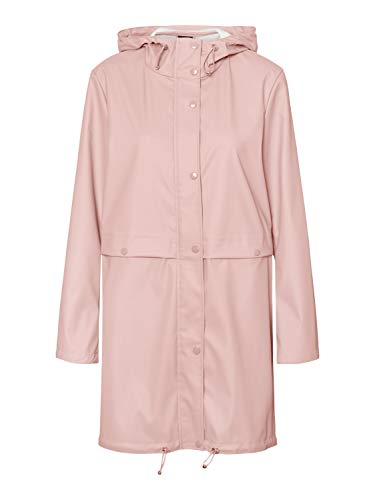 VERO MODA Damen VMEVERYDAY 3/4 Coated Jacket GA Regenjacke, Misty Rose, M