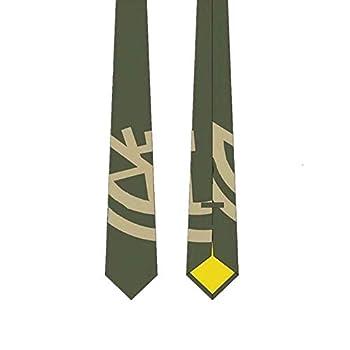 TokiShips Dangan Ronpa 2 Hinata Hajime Cosplay Tie Army Green One-size
